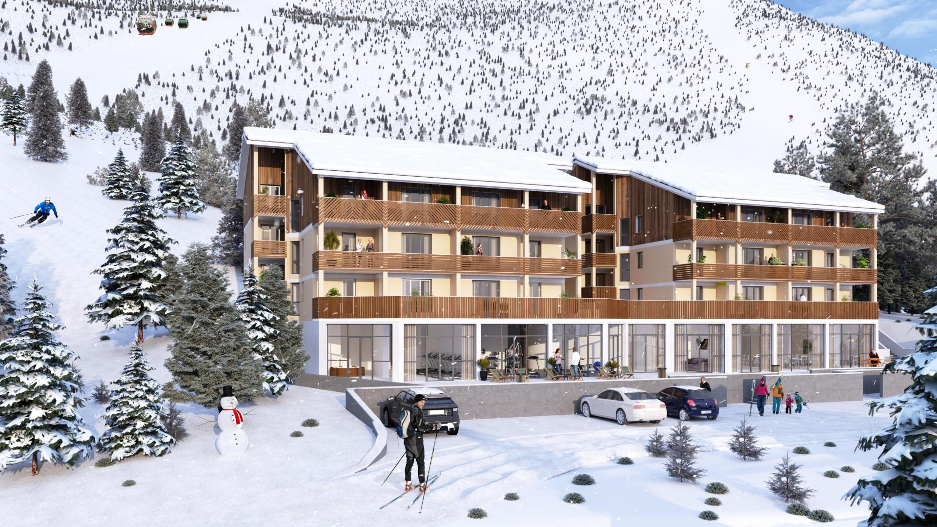 Appartements neufs dans les Pyrénées : Les Verts Sapins